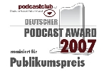 Podcast-Award nominierte-Logo
